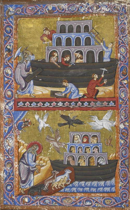 Noah and the ark add ms 15268 f007v